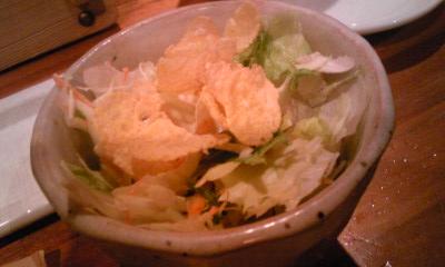 揚八サラダ食べ放題