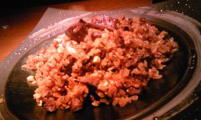 鉄板焼きさかもと 和牛ヒレ肉ガーリックチャーハン