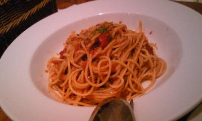 SOLAスパゲッティトマトソースアンチョビ