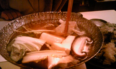 和牡蠣すき小鍋