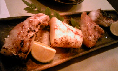 和魚塩焼きちょこっと盛り鯛、きんき、むつ、甘鯛