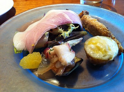 アバッキオ201104ランチ前菜