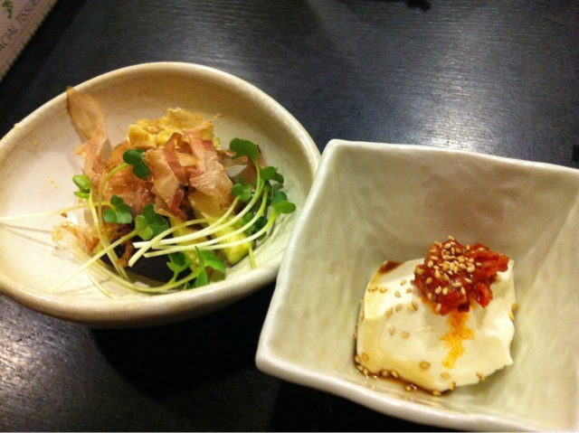 肉鍋おおさわ201109前菜