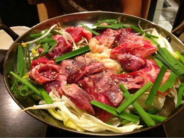肉鍋おおさわ201109肉鍋