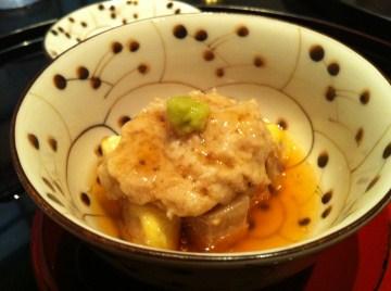 桜会豚バラ肉に栗の蒸し物、栗。s-