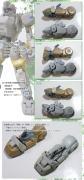 1/35 KOTOBUKIYA クーガーⅠ型 ラッシングホイール&脚部サスペンション製作♪