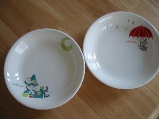 スナフキン&ミーのお皿