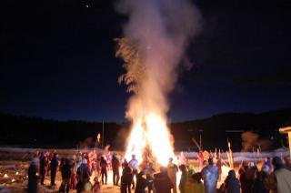 田麦山雪祭り01