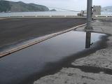 陥没した釜石港