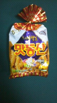 韓国のおかし1