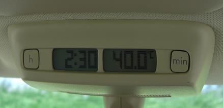 2時半の気温