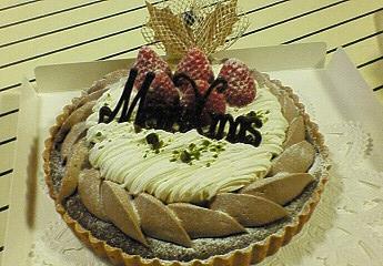 X'mas用キャラメルケーキ