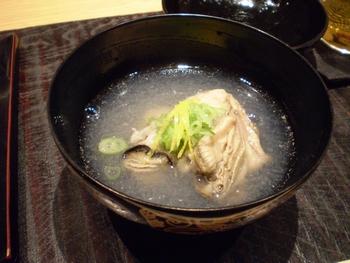 牡蠣の吸い物