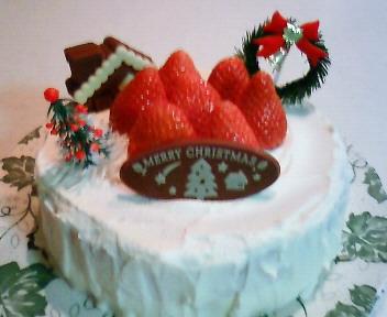 クリスマスケーキ'08