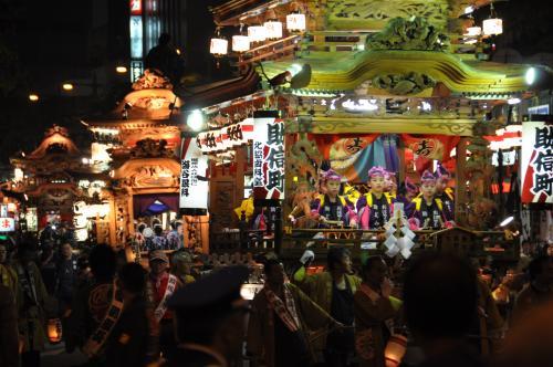 浜松祭り山車1