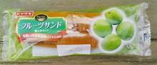 フルーツサンド[梅&ホイップ](ヤマザキ)