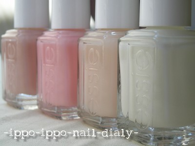 essie wedding collection②