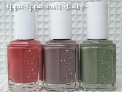 essie 2010 fall collection