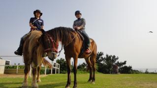 ひとみさん乗馬 002