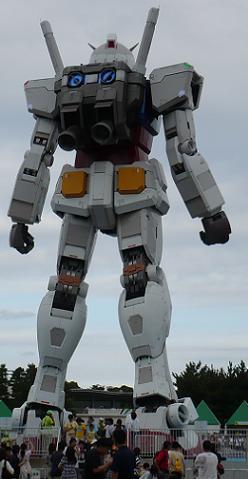 お台場 機動戦士ガンダム 18m実物大立像