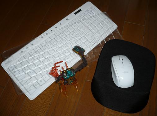 キーボードカバー&マウスパッド
