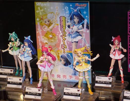 キャラホビ2009 S.H.Figuarts Yes! プリキュア5 Go Go!