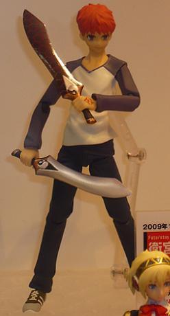 キャラホビ2009 figma 衛宮士郎 私服Ver,