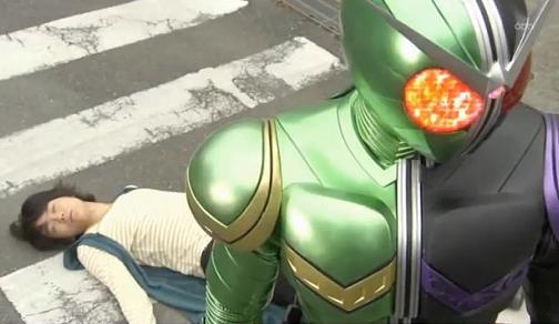 仮面ライダーW 第02話「Wの検索/街を泣かせるもの」