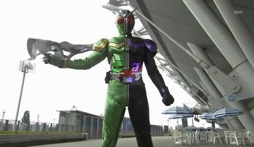 仮面ライダーW 第01話「Wの検索/探偵は二人で一人」