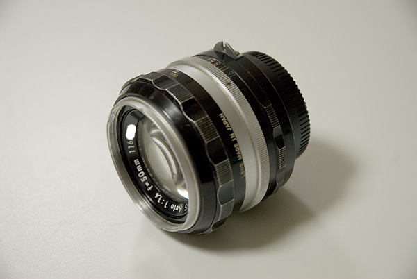 NIKKOR-S Auto 50mm F1.4
