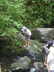 箕面・川遊び2