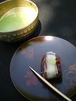お抹茶・お菓子1