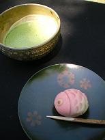 お抹茶・お菓子