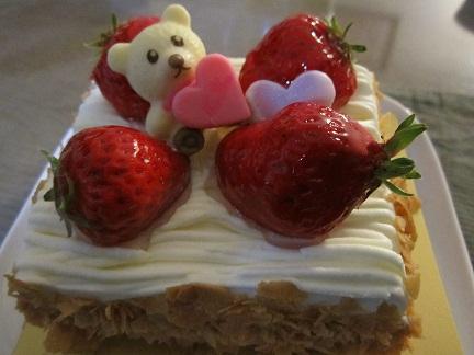 ホワイトデーのケーキ