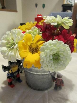 お花とレご