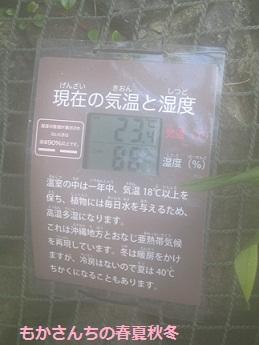 温室の気温と湿度