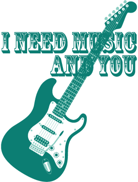 I NEED MUSIC AND YOU(G)