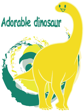 Adorable dinosaur(Y)