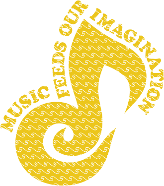 MUSIC FEEDS OUR IMAGINATION(Y)