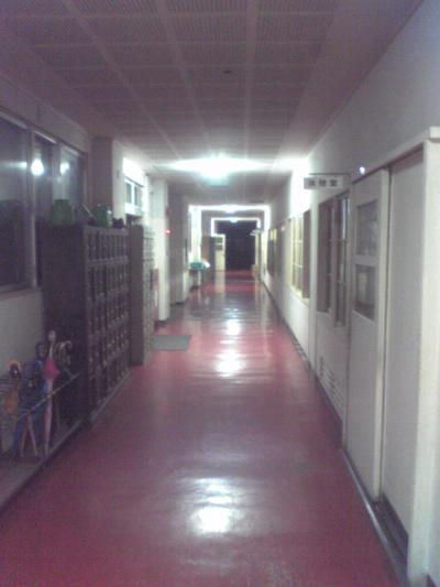 夜のA校舎