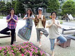 日曜日のハタヨガ&瞑想クラス