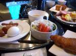 ホテルでの朝食①
