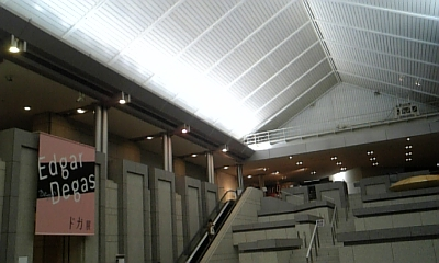 横浜美術館 ドガ展