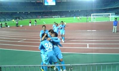 2010札幌戦 久木野ゴール!