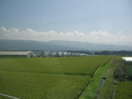 長野で社会科見学 伊那の農業