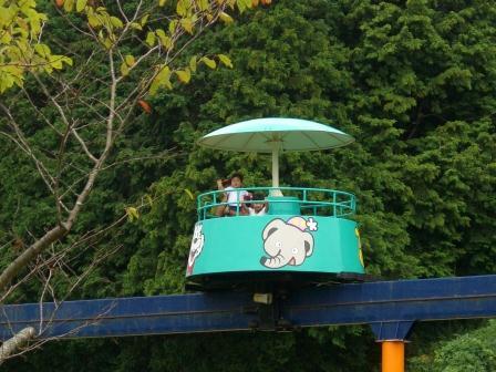 山口ツアー サファリランドの遊園地①