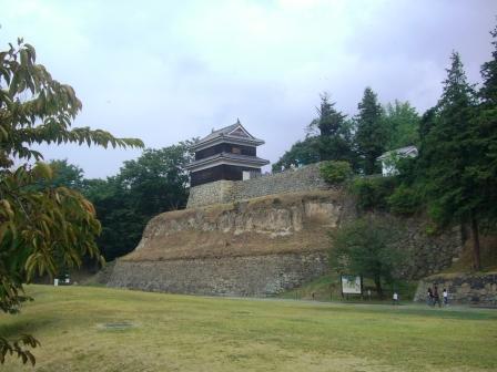 上田城 下から2