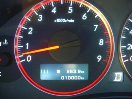 レガシィB4 1万キロ!