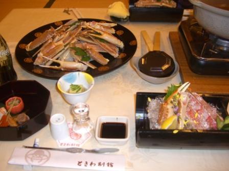 城崎ツアー 夕食
