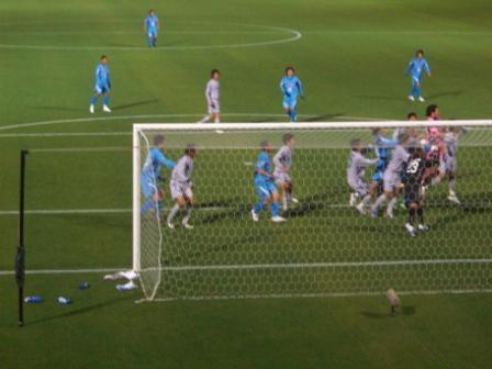 2010徳島戦 最後の猛攻
